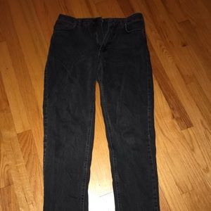 BDG urban outfitters black mom jeans